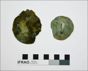 Bronze mirrors found in the burial (The Siberian Times)