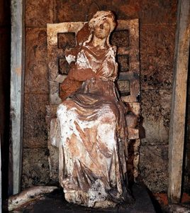 Statue of Cybele (by Daily Sabah)