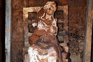 Ancient statue of goddess Cybele discovered in north-western Turkey