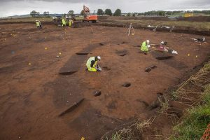 Excavations at the site (by STV)