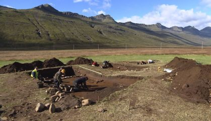 Earliest settlement found in Iceland