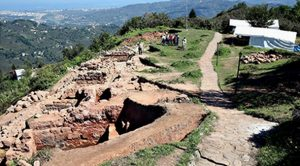 The site of excavations  (by Daily Sabah)