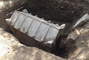 The sarcophagus (by Daily Sabah)