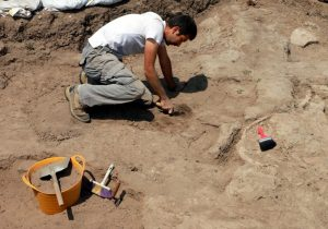 Excavations at the site (by The Anatolian News Agency)