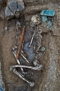 Largest burial discovered this season (by Dimitri Narimanisvhili )