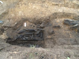 Archaeologists discovered Teutonic Order's burnt down fortifications