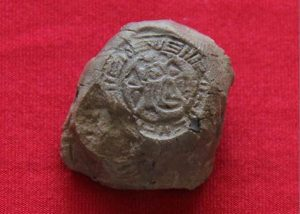 "The Hittite seal bearing the name ""Pati"" (by Dogan News Agency)"