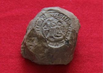 Hittite seal stamp with woman's name found