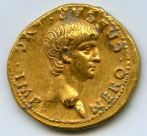 The golden coin of Emperor Nero (by PhysOrg)