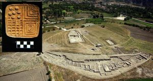 The seal and the site of Hacilar (by Daily Sabah)