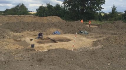 Silkeborg site reveals traces of activity spanning over 3000 years