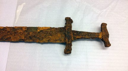 1000-year-old Viking sword discovered by goose hunters in Iceland