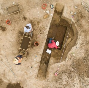 Excavations of a house (by Tuscon.com)