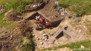 Excavation at the site (by Live Science)