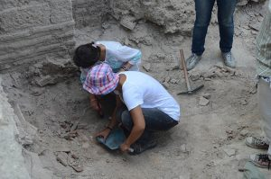 Excavations at the site (by Daily Sabah)