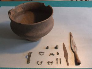 Finds from the site (by Muzeum Narodowe w Szczecinie)