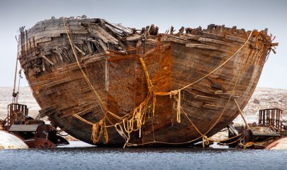 Ship of Arctic explorer Roald Amundsen raised to surface