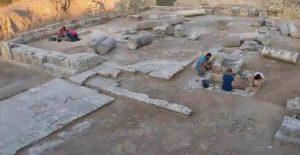 Excavations in Gortyna (by Il Mattino di Padova)