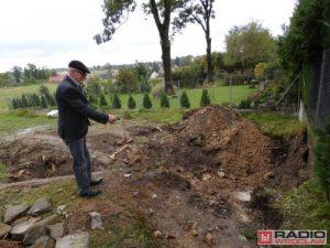 Site where the objects were found (by Radio Wrocław)