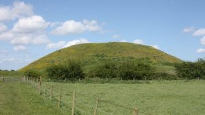 Mound at Skipsea Castle (by BBC News)