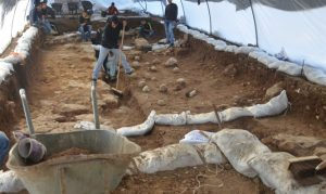 Excavations in Jerusalem (by Israel National News)