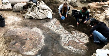Great Basilica's excavations reveal 13th century murals and mosaics