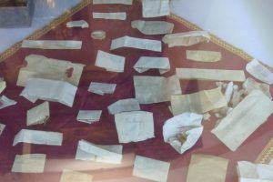Relics of saints in the new reliquary (by Plus Radio Legnica)