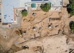 Site of excavations (by Tuscon.com)