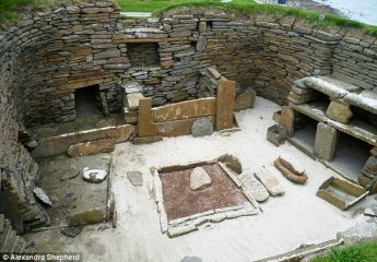 Remains at Skara Brae reveal people eating rodents during Stone Age