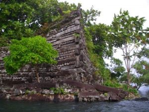 Tomb in Nan Madol (by International Business Times)
