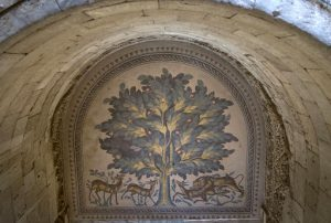 A Tree Of Life mosaic at the site (by PhysOrg)