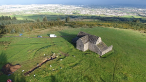 Aerial view of the site (by The Journal)