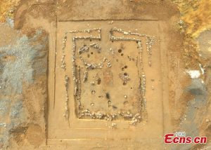 Details of the excavated structures (by People's Daily Online)