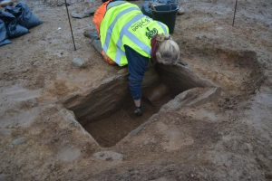 Excavations at the site (by Daily Post)