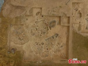 Aerial photograph of the site (by People's Daily Online)