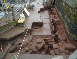 Excavations in Chester reveal Roman gate tower