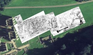GPR measurement results (by National Trust/PA)