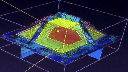 Geophys reveals smaller pyramid within pyramid