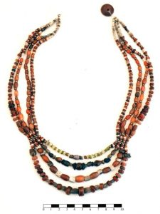 4500-year-old bead necklace (by Lorenzo Nigro)