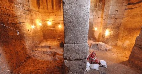 Ancient Roman Era cistern found in Turkey