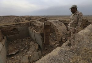 Ancient Nimrud destroyed by ISIS terrorists (by Hussein Malla)