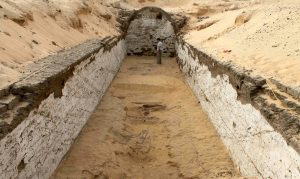 Overview of the tomb (by International Business Times)