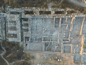 The Canaanite palace in Gezer (by Tel Gezer Excavation Project, Steven M. Ortiz)