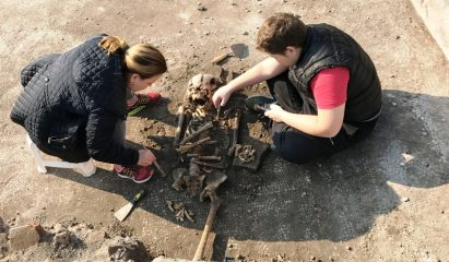 11th-century skeleton unearthed in Great Basilica