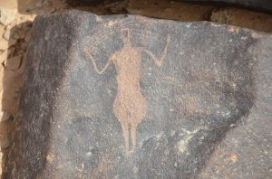Ancient individual depicted (by Peter Akkermans via Science Live)
