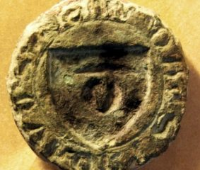 Medieval seal found and deciphered near a Swedish castle