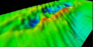3D sonar scan of HMS Electra wreck plundered by metal scavengers (by nswwrecks)
