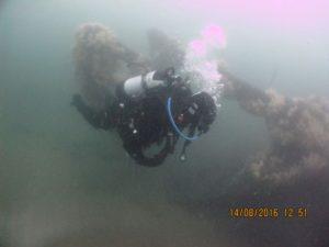 Eston wreck site (by Mark Willis & Northumbria Scuba Divers)