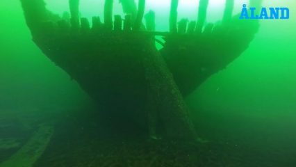 150-year-old Baltic wreckage studied by underwater explorers