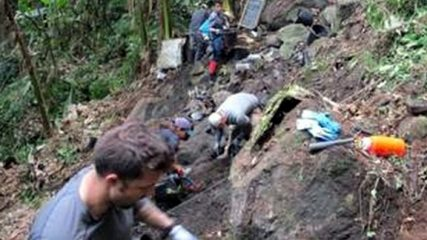 Remains of US WWII plane crash victims found in India